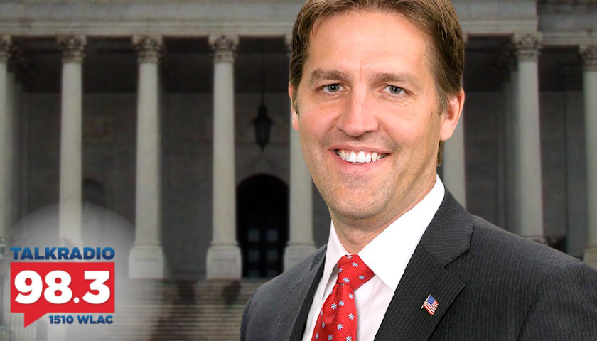 Crom Carmichael Examines the Curious Disposition of Republican Ben Sasse and Biden's SALT Wound