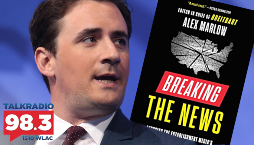 Alex Marlow: Breitbart Editor-in-Chief and Author of 'Breaking the News' Joins Host Leahy to Discuss His New Bestseller