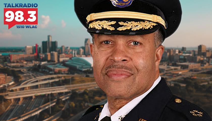 Detroit Police Chief James Craig